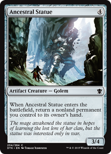 Ancestral Statue Magic Card