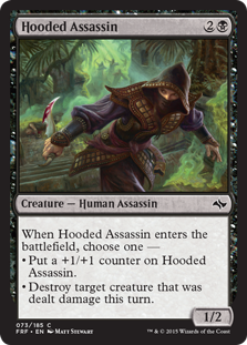 Hooded Assassin Magic Card
