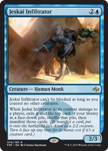Jeskai Infiltrator Magic Card