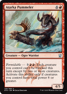 Atarka Pummeler Magic Card