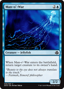 Man-o'-War Magic Card