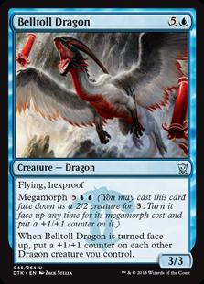 Belltoll Dragon Magic Card