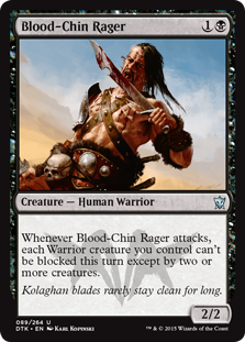 Blood-Chin Rager Magic Card