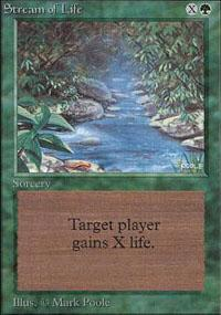 Stream of Life Magic Card