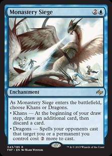Monastery Siege Magic Card