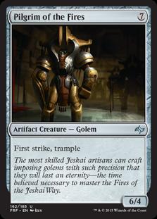 Pilgrim of the Fires Magic Card