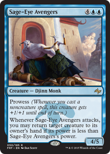 Sage-Eye Avengers Magic Card