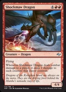 Shockmaw Dragon Magic Card
