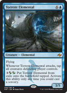 Torrent Elemental Magic Card