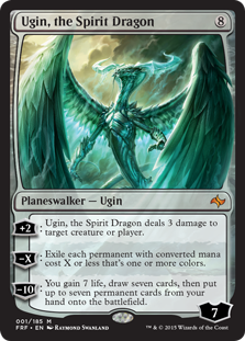 Ugin, the Spirit Dragon Magic Card