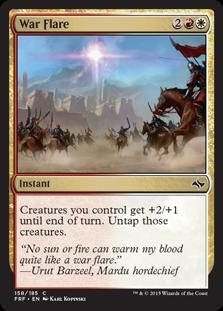 War Flare Magic Card