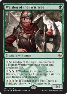 Warden of the First Tree Magic Card