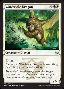 Wardscale Dragon Magic Card