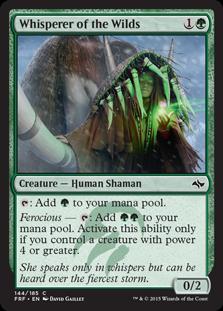 Whisperer of the Wilds Magic Card