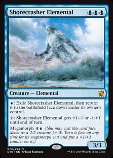 Shorecrasher Elemental Magic Card