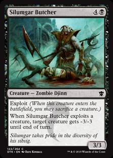 Silumgar Butcher Magic Card