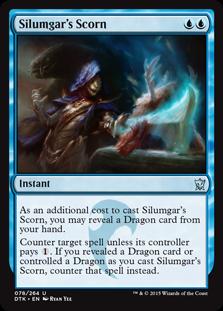 Silumgar's Scorn Magic Card