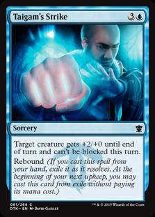 Taigam's Strike Magic Card
