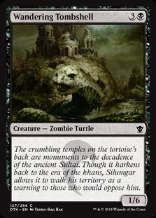Wandering Tombshell Magic Card