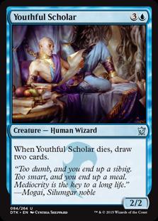 Youthful Scholar Magic Card