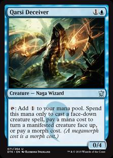 Qarsi Deceiver Magic Card