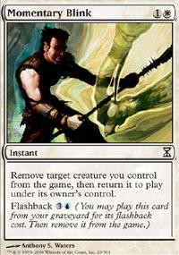 Momentary Blink Magic Card