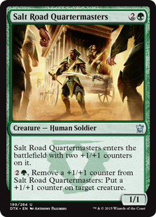 Salt Road Quartermasters Magic Card