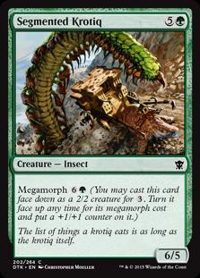 Segmented Krotiq Magic Card