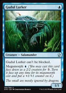 Gudul Lurker Magic Card
