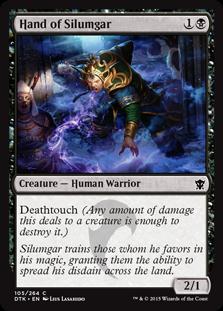 Hand of Silumgar Magic Card