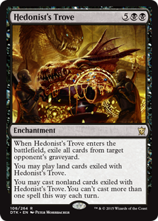 Hedonist's Trove Magic Card