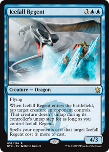 Icefall Regent Magic Card