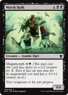 Marsh Hulk Magic Card