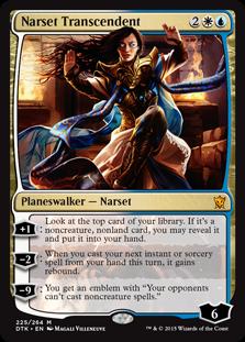 Narset Transcendent Magic Card