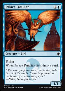 Palace Familiar Magic Card