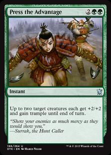 Press the Advantage Magic Card