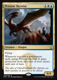 Pristine Skywise Magic Card