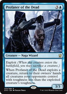 Profaner of the Dead Magic Card