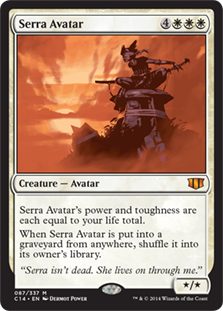 Serra Avatar Magic Card