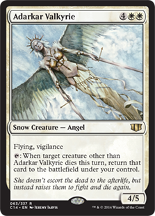Adarkar Valkyrie Magic Card