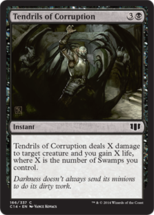 Tendrils of Corruption Magic Card