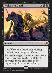 Wake the Dead Magic Card