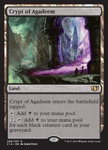 Crypt of Agadeem Magic Card