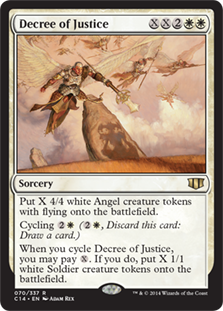 Decree of Justice Magic Card