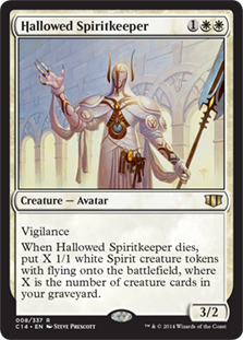 Hallowed Spiritkeeper Magic Card