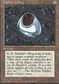 Aladdin's Ring Magic Card