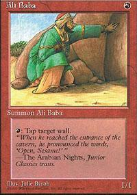 Ali Baba Magic Card