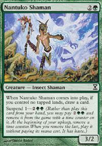 Nantuko Shaman Magic Card