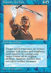 Animate Artifact Magic Card