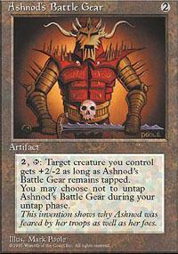 Ashnod's Battle Gear Magic Card